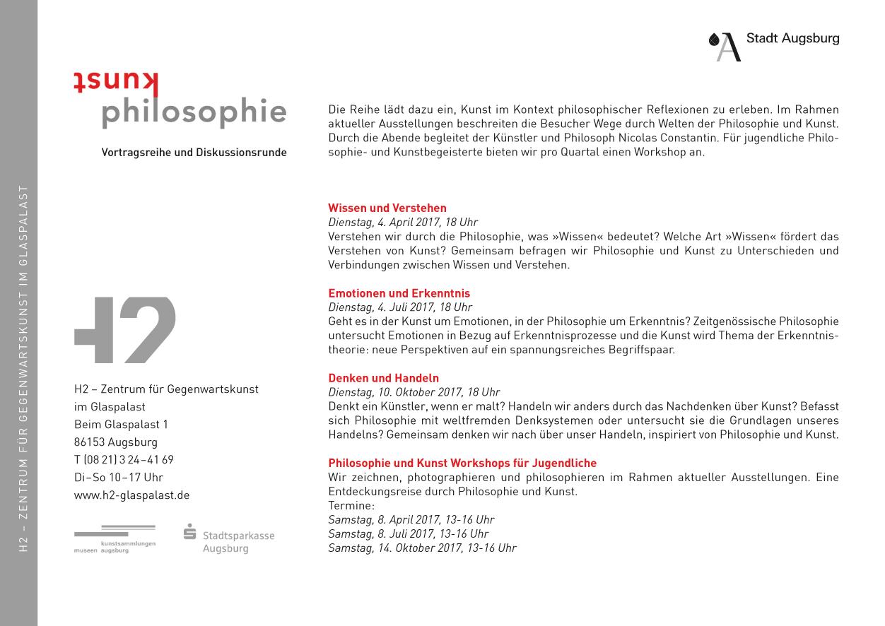 Philosophie und Kunst - Nicolas Constantin Romanacci